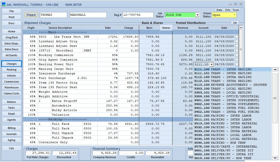 Revenue Distribution