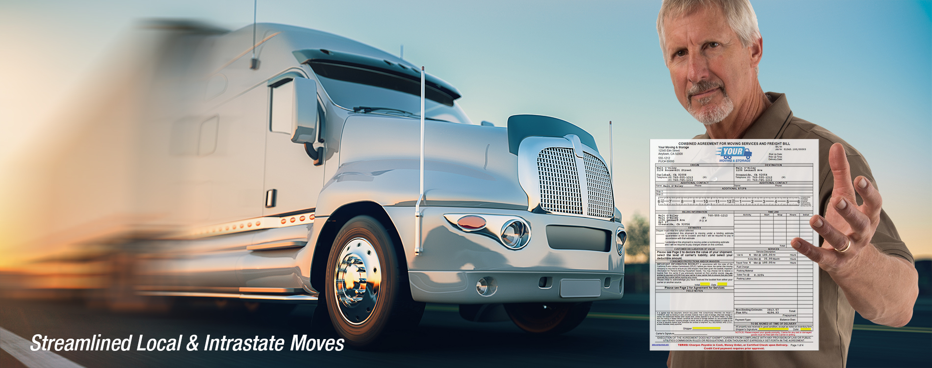 Streamlined Local and Intrastate Moves